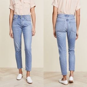 AGOLDE | Jamie High Rise Classic Jeans in Brooklyn